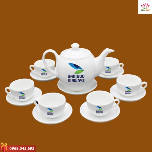 Ấm trà quà tặng Bamboo Airway