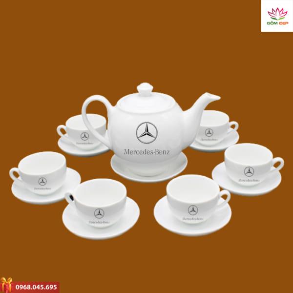 Ấm trà quà tặng Mercedes Benz