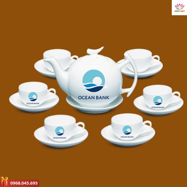 Ấm trà quà tặng Ocean Bank