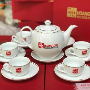 Bộ trà sứ cao cấp