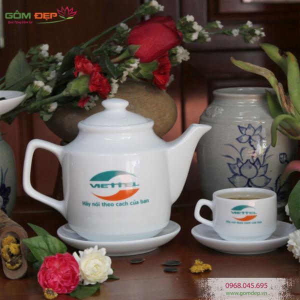 Địa chỉ mua ấm chén Bát Tràng ở Hà Nội uy tín giá rẻ