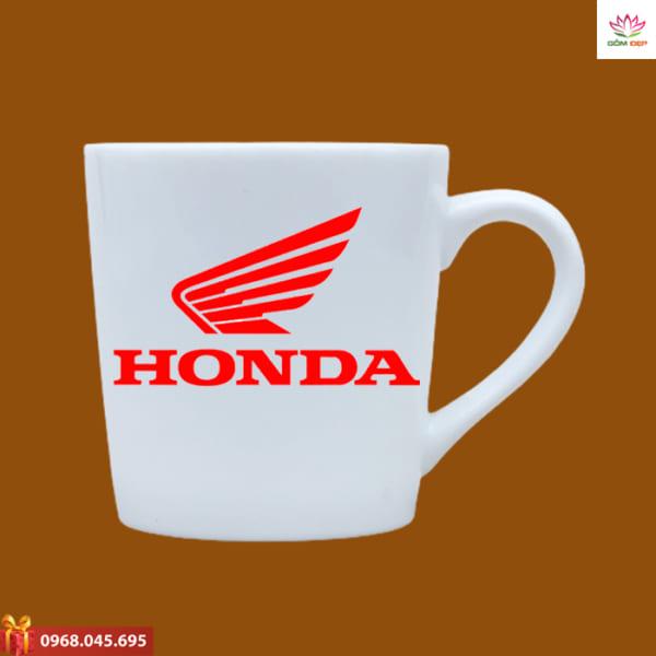 Ly sứ in logo Honda