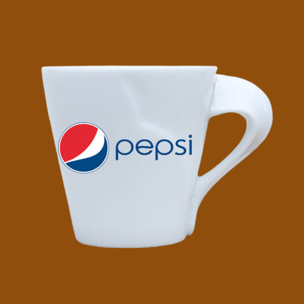 Ly sứ quà tặng in logo Pepsi