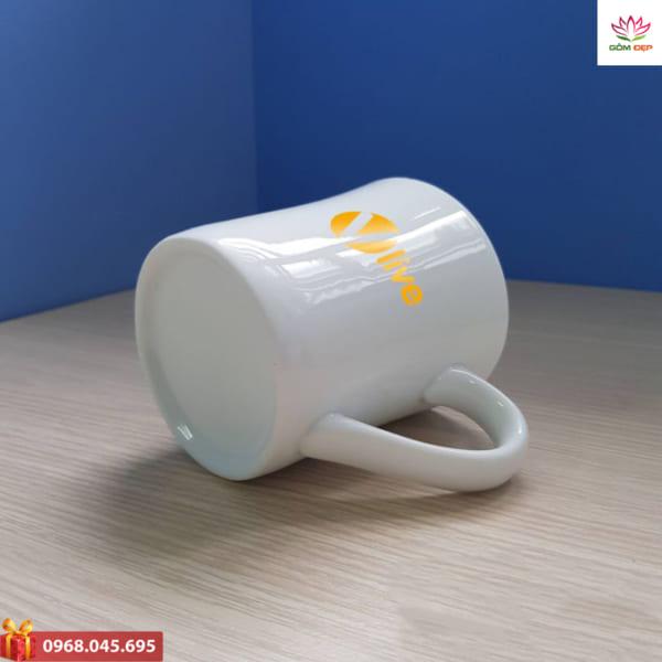 Xưởng sản xuất cốc sứ in logo giá rẻ