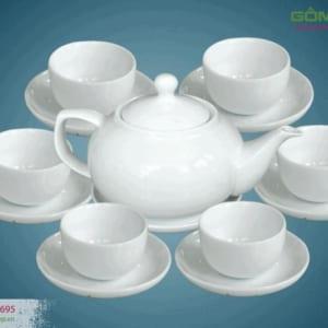 Bộ ấm trà dáng Giang Tây
