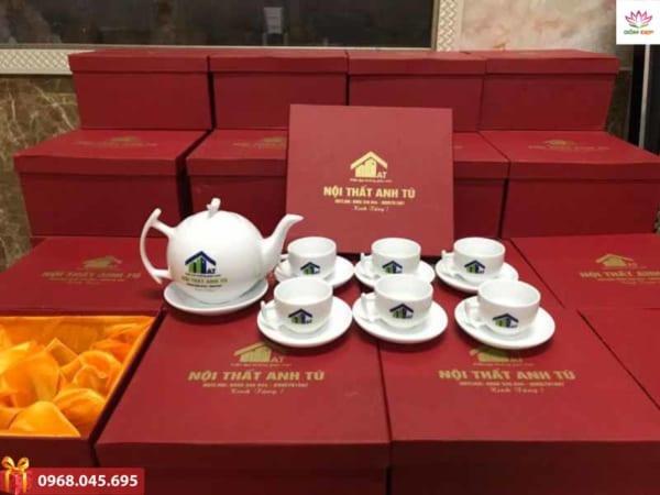 Ấm trà Bát Tràng đẹp
