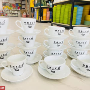 Bộ cốc cafe in logo